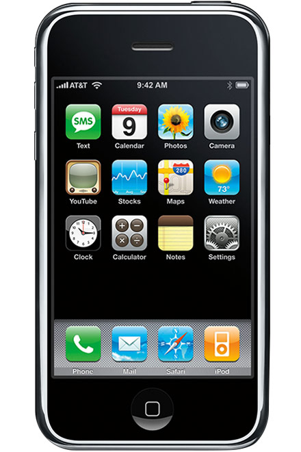 Apple - iPhone 2G 4GB