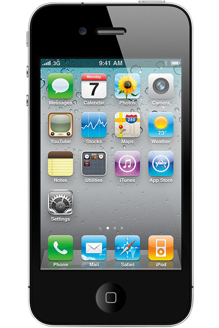 Apple - iPhone 4S 64GB