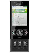 Sony Ericsson - G705