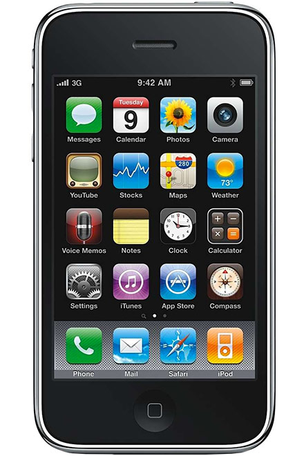 Apple - iPhone 3GS 8GB