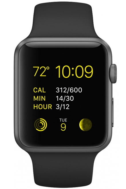Apple - Watch Sport (1st Generation) 38mm