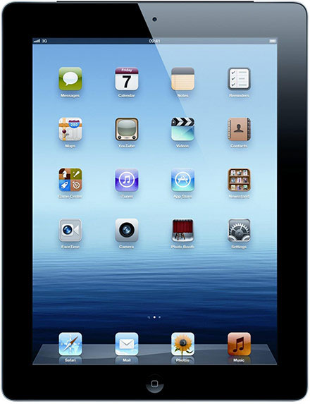 Apple - iPad 3 64GB WiFi+4G