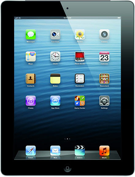 Apple - iPad 4 64GB WiFi+4G