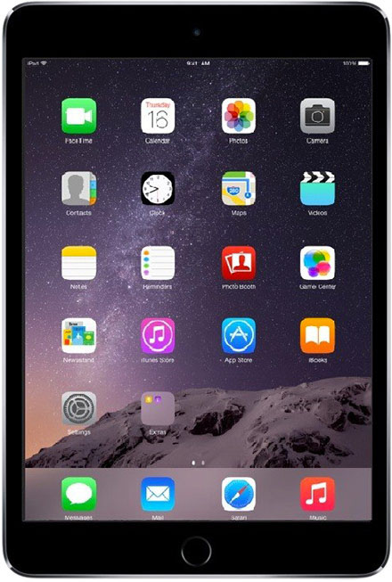 Apple - iPad mini 3 128GB WiFi + 4G