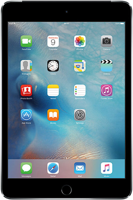 Apple - iPad mini 4 16GB WiFi + 4G