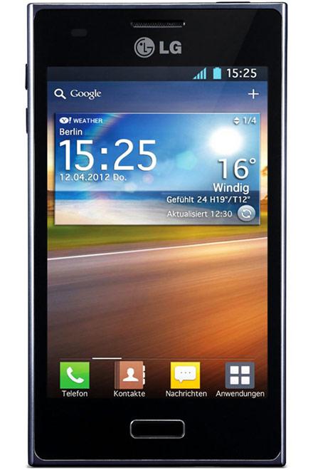 LG - Optimus L5 E610