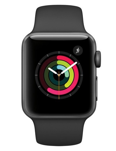 Apple - Watch Series 2 Aluminium Case 38mm