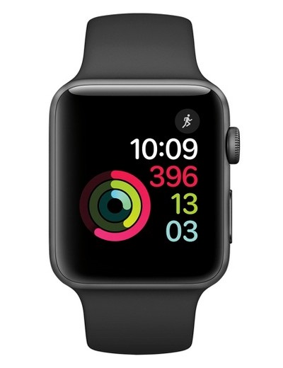 Apple - Watch Series 2 Aluminium Case 42mm