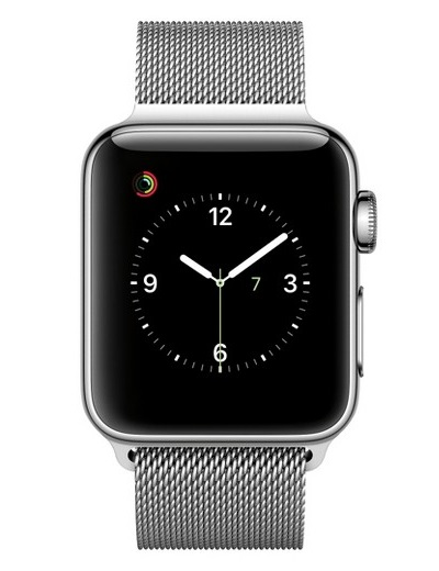 Apple - Watch Series 2 Stainless Steel Case 38mm