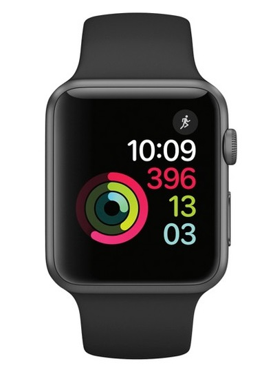 Apple - Watch Series 1 Aluminium Case 42mm