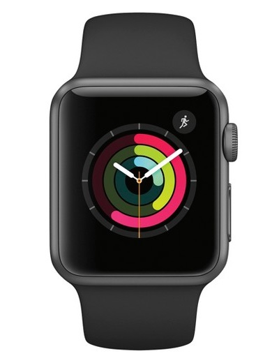 Apple - Watch Series 1 Aluminium Case 38mm