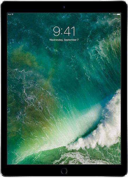 Apple - iPad Pro 12.9 (2nd Gen) 64GB WiFi