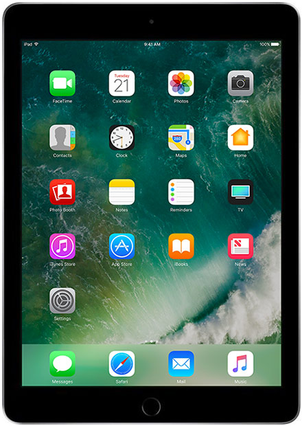 Apple - iPad 5 128GB WiFi + 4G