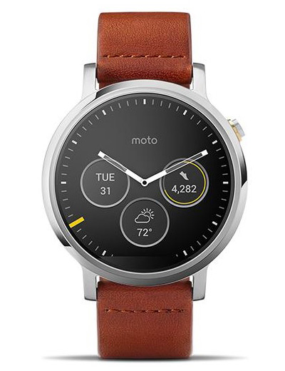 Motorola - Moto 360 (2nd Gen) 46mm
