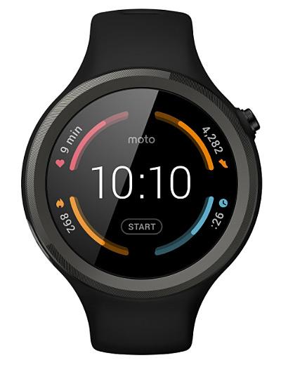 Motorola - Moto 360 Sport 45mm
