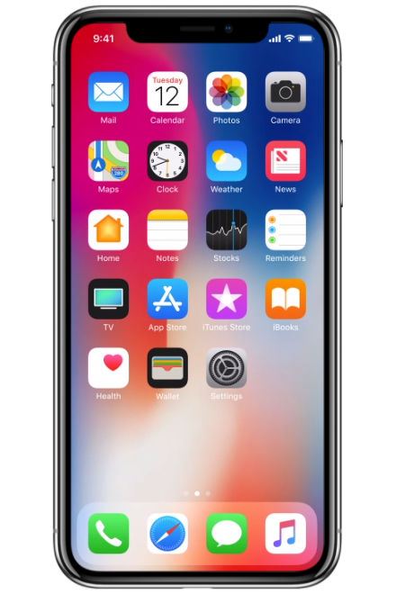 Apple - iPhone X 256GB