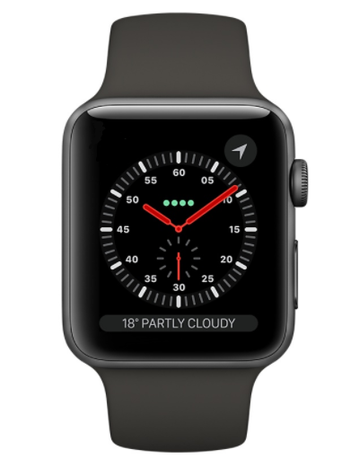 Apple - Watch Series 3 GPS Aluminium Case 38mm