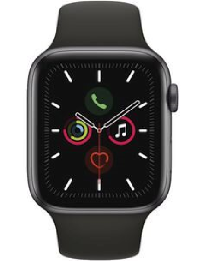 Apple - Watch Series 5 GPS + Cellular Aluminium 44mm