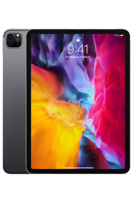 Apple - iPad Pro 11 (2020) (4th Gen) 1TB WiFI + Cellular