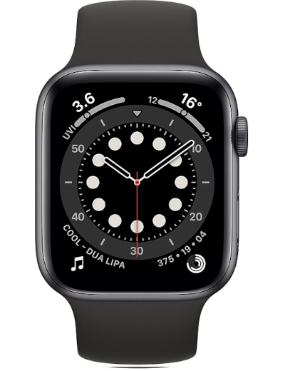 Apple - Watch Series 6 GPS Aluminium Case 44mm