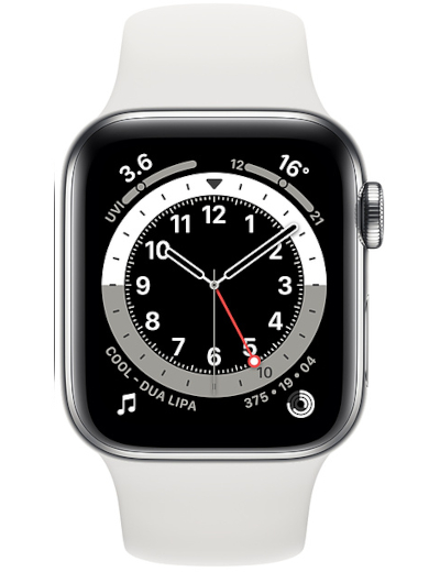 Apple Watch Series 6 GPS + Cellular Stainless Steel 40mm