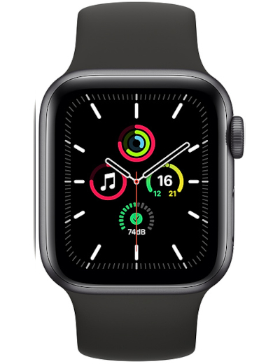 Apple - Watch SE GPS Aluminium Case 40mm