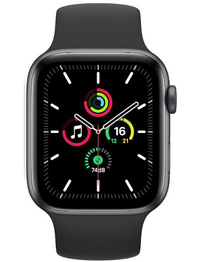 Apple - Watch SE GPS + Cellular Aluminium Case 44mm